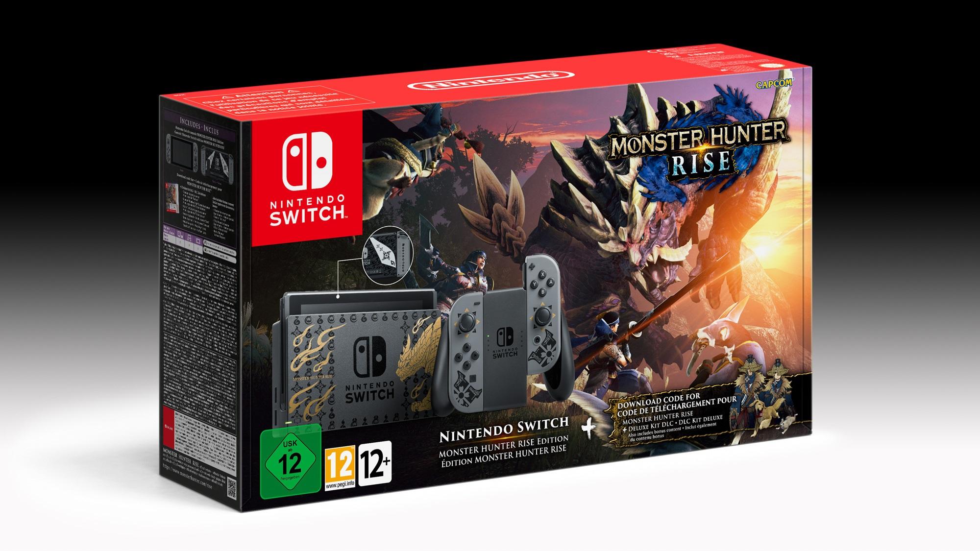 Nintendo Switch Monster Hunter Rise Edition Limitée : où la précommander ?