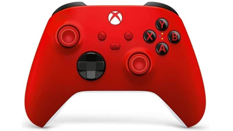 manette sans fil pulse red