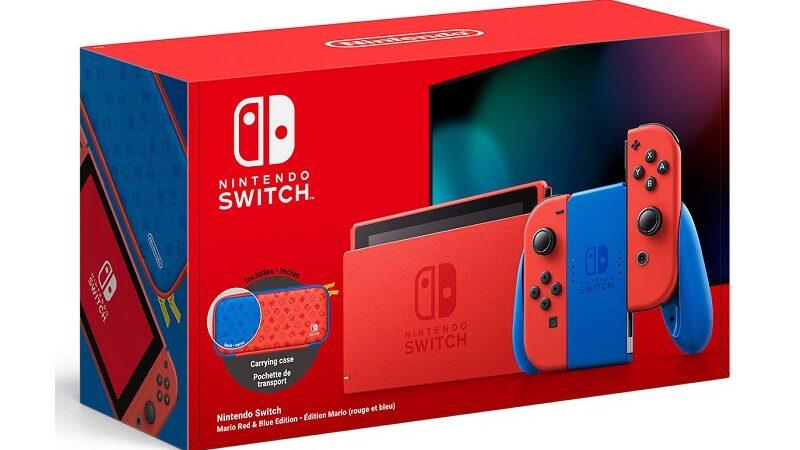 acheter nintendo switch edition mario pas cher
