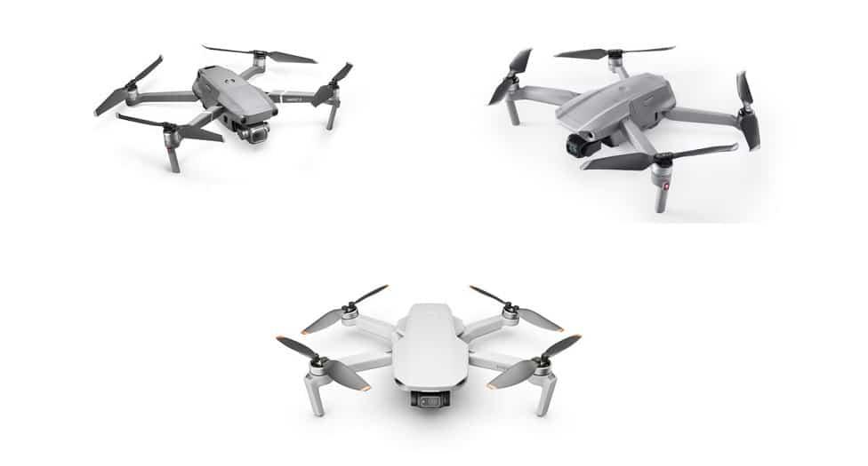 Drone DJI : grosses promos sur le Mini 2, Mavic Air 2 et Mavic 2 Pro