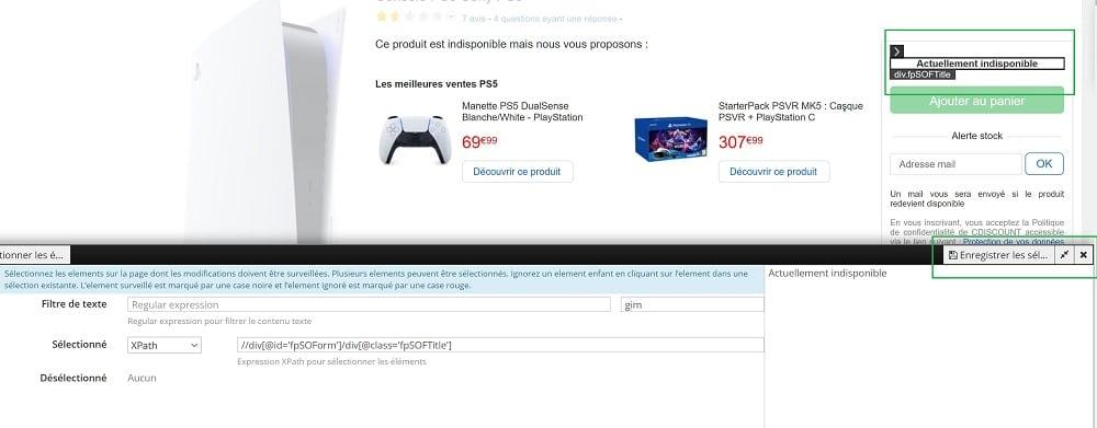 PS5 cdiscount