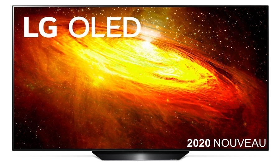 LG BX : excellente offre sur la TV OLED dans sa version 55 pouces