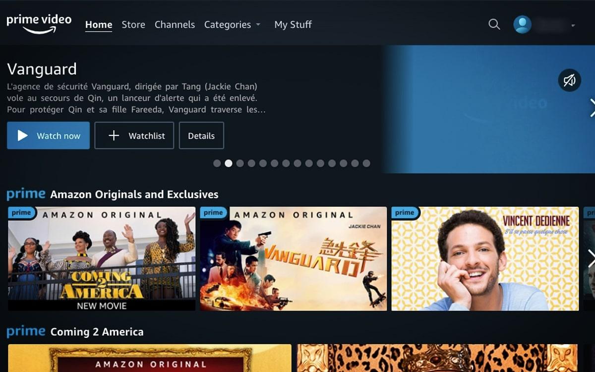 Amazon Prime Video s'Abonner