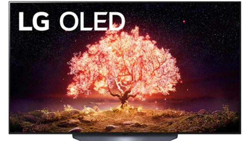 La TV OLED LG B1 (139cm) tombe à 999 € chez Rue du Commerce !