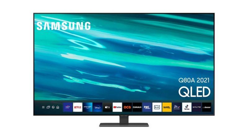 TV pour PS5 et Xbox Series X : la Samsung Q80A 55″ est à prix sacrifié !